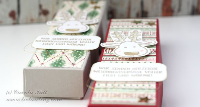 Verpackung für 4 Teelichter Stampin Up Linz Österreich 3